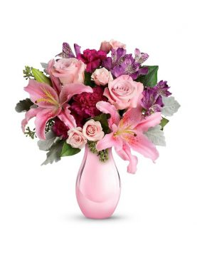 Bunch of Charming Pink Roses