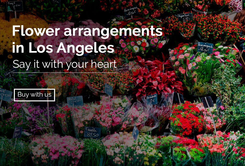 <h1>Flower arrangements in Los Angeles</h1>